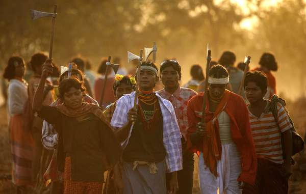 The Dongria reasserted their pledge not to leave the Niyamgiri hills at their annual festival in February.