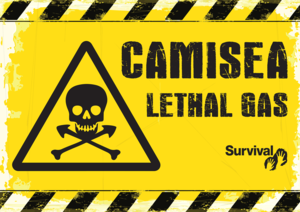 Protesters will carry placards symbolizing the lethal effects of the Camisea project on Peru's uncontacted tribes.