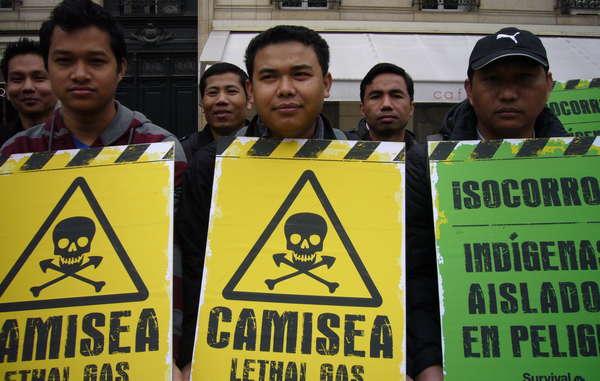 Les Jumma du Bangladesh ont manifesté leur soutien aux tribus isolées du Pérou