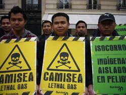 Les Jumma du Bangladesh ont manifesté leur soutien aux tribus isolées du Pérou.