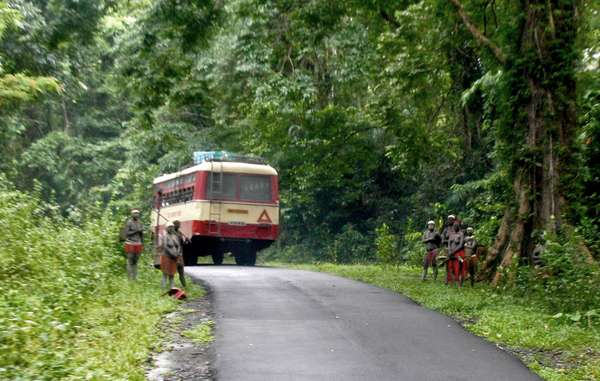 """Survival has launched a tourism boycott of India's Andaman Islands until the 'human safaris' to the Jarawa are stopped."""
