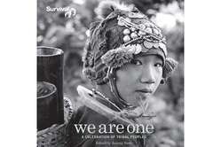 The cover of 'We Are One', the photo book marking Survival's 40 birthday.