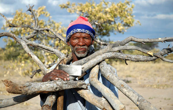 """Bushmen are being arrested despite their right to live and hunt in the CKGR."""
