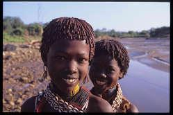 Jóvenes hamar, Etiopía