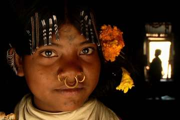 Dongria girl, Niyamgiri Hills, India