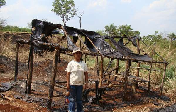 """Damiana lost members of her family to road accidents, and gunmen destroyed Guarani shelters."""