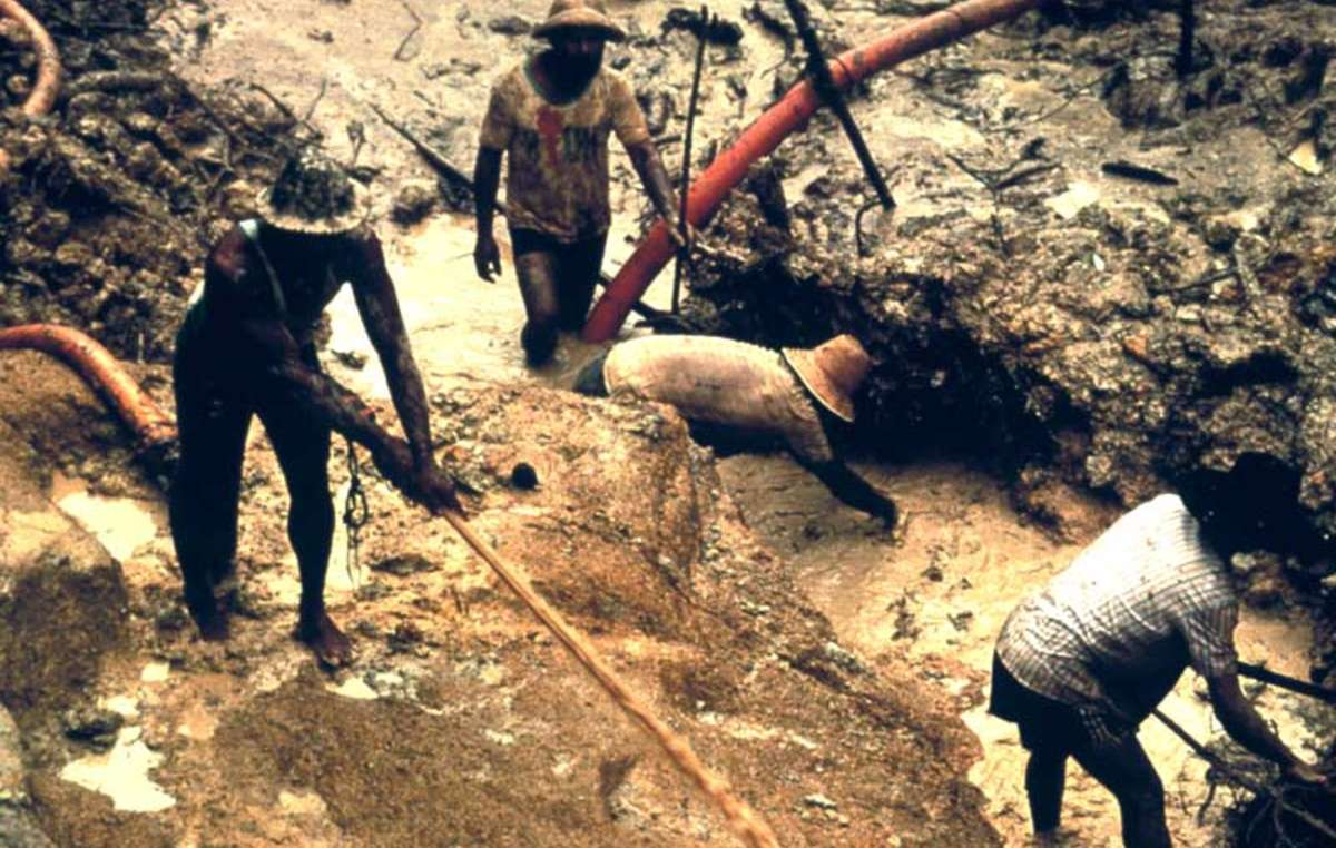 Illegal gold-mining is destroying the Indians' forest, and polluting their rivers with mercury.