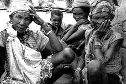 Bushman women, Namibia