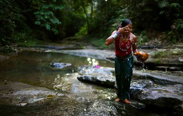 Jumma women and girls are often attacked when they are alone in the forest, or when they go to the river to collect water or bathe.