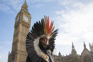 Nixiwaka Yawanawá, an Amazon Indian in London, has described London as a city 'rich in history and filled with ghosts'.