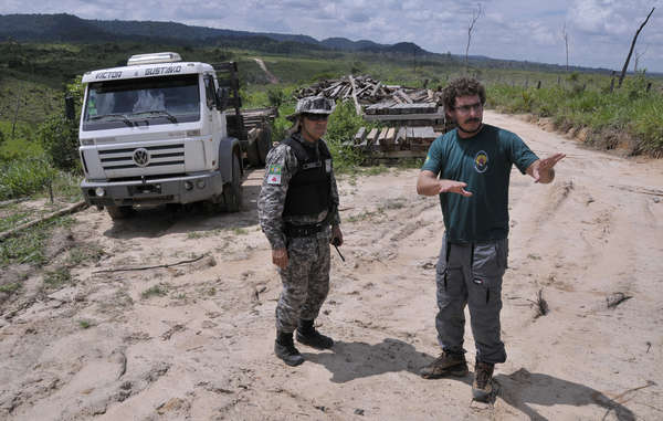 FUNAI agents in Brazil. Ground teams work full-time to keep invaders out of uncontacted tribal territory, but this vital protection could be withdrawn.