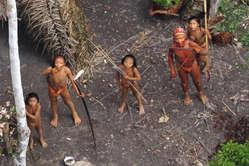 Índios isolados na Amazônia ocidental