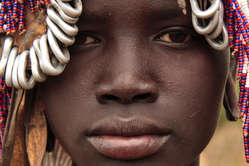 The Mursi are one of the tribes that will be affected by plantations and the Gibe III dam.