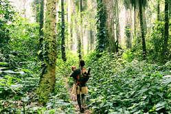 Satte Wälder sind zentral für die Identität der Pygmäen. Ihr Land ist Grundlage für Kultur und Überleben.