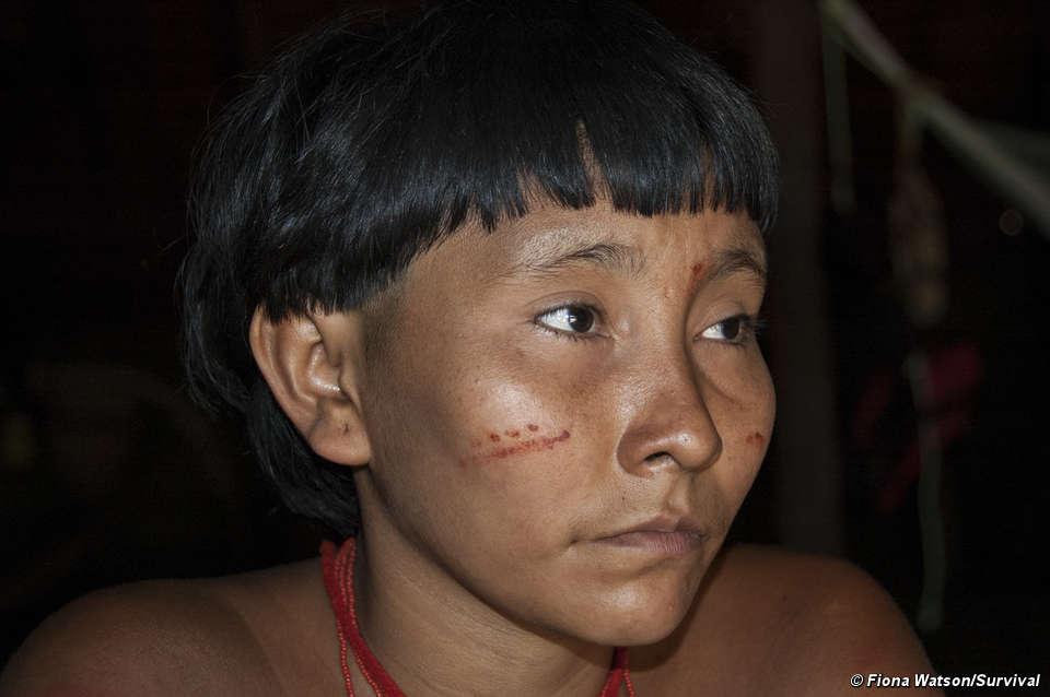 Indígenas del amazonas © Fiona Watson/Survival