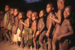 Pygmee kinderen