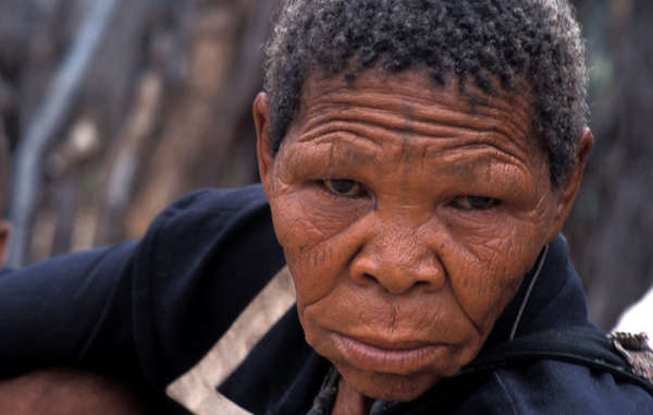 Xoroxloo Duxee, who died because the Botswana government stopped the Bushmen accessing their water.