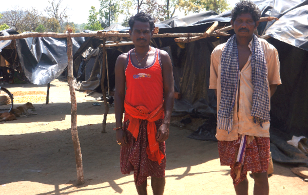 The Khadia were evicted from their homeland inside Similipal Tiger Reserve in December 2013. They are now living in dire conditions under plastic sheets and have not received the compensation they were promised.
