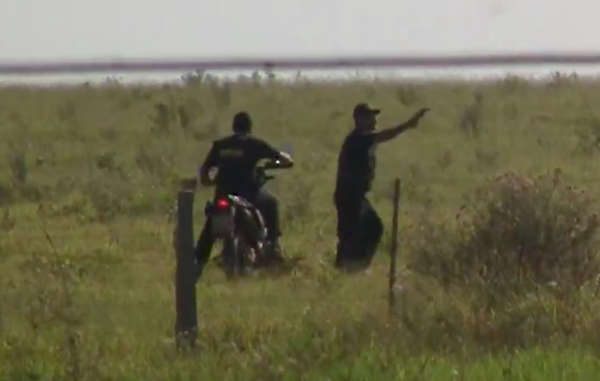 New video footage shows gunmen driving past a Guarani community and firing shots at the Indians
