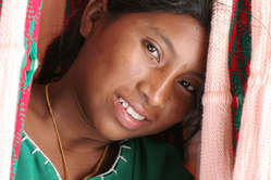 Wayúu woman, la Guajira.
