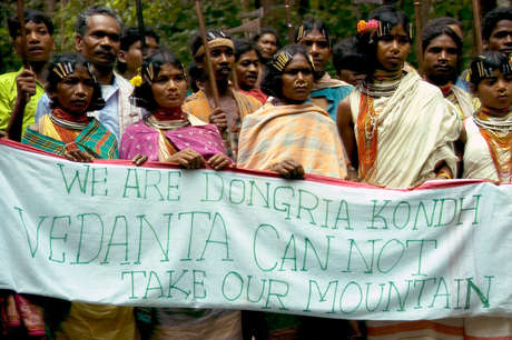 Dongria Kondh protest against Vedanta Resources, Niyamgiri, India