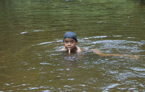 Much of the tribe's food comes from fishing, making them highly vulnerable to mercury poisoning after miners dump the chemical in rivers to search for gold