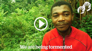 Watch Baka recount the abuse they suffer at the hands of anti-poaching squads supported by WWF.