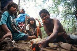 Crianças Ayoreo-Totobiegosode, Paraguai.