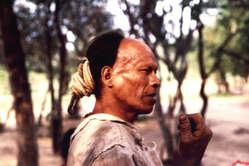 Parojnai, um homem Ayoreo que morreu de tuberculose como resultado de contato com forasteiros.