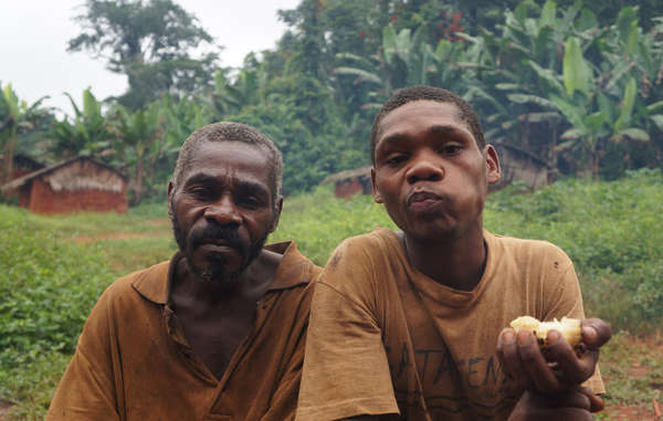 """Forced out of the forest, many Baka communities complain of a serious decline in their health. Living on the roadside, they are increasingly exposed to malaria and other diseases."""