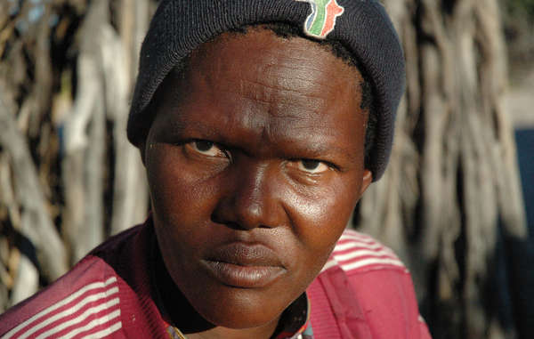 Most of the Bushmen are still living in government eviction camps, where poverty and disease are rife. The government claims their hunter gatherer life in the Kalahari is 'backwards' and 'primitive.'