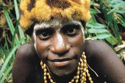 """""""Mann vom Stamm der Asmat, Papua."""""""