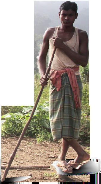 Dongria Kondh man