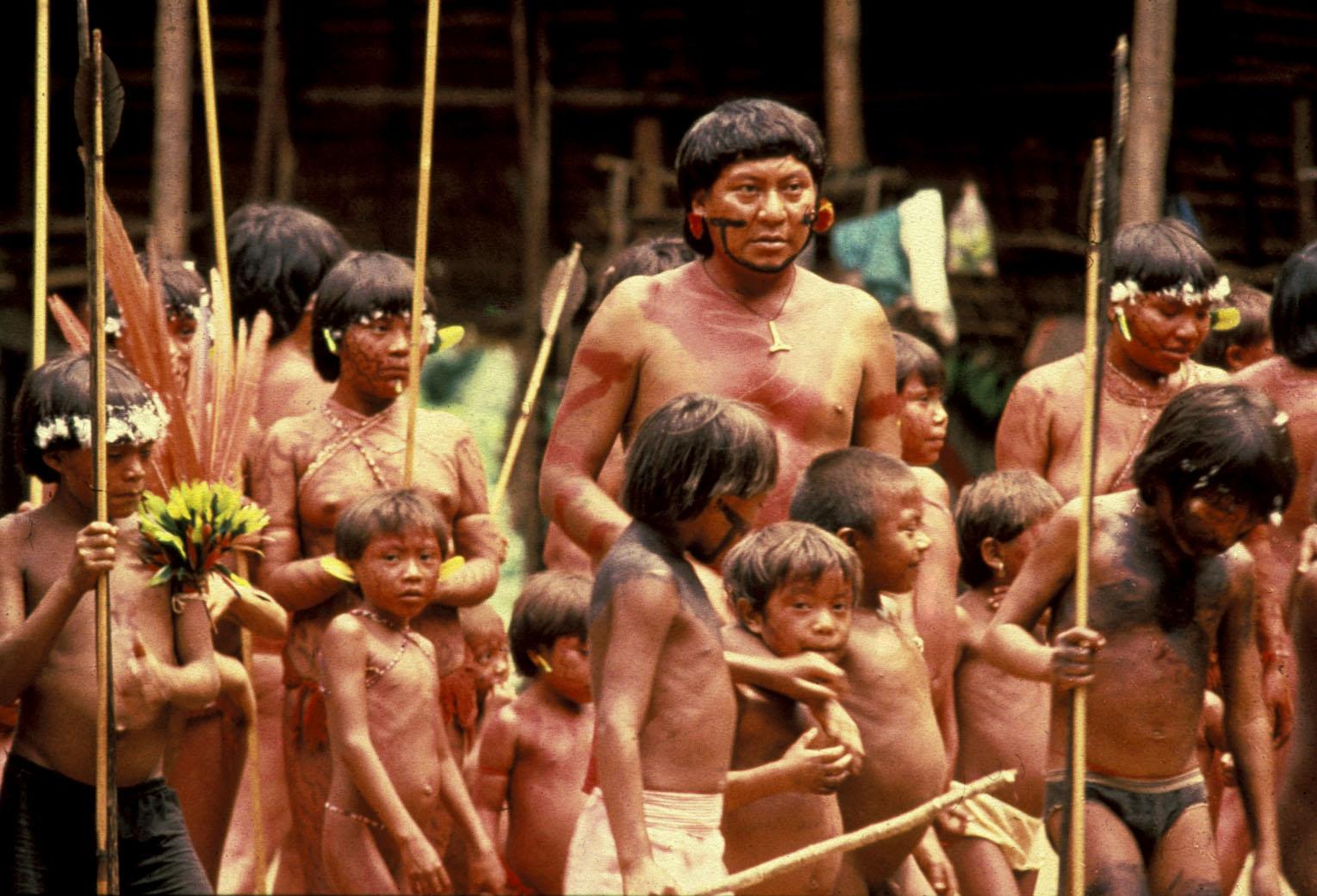 Племена амазонки дети фото