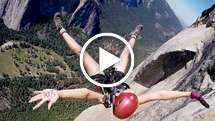 Girl jumps off El Capitan, but you'll never guess why