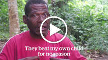 "Baka ""Pygmy"" father speaks out against WWF-funded abuse"