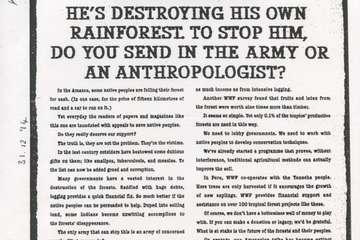 WWF-Anzeige aus dem Jahr 1994.