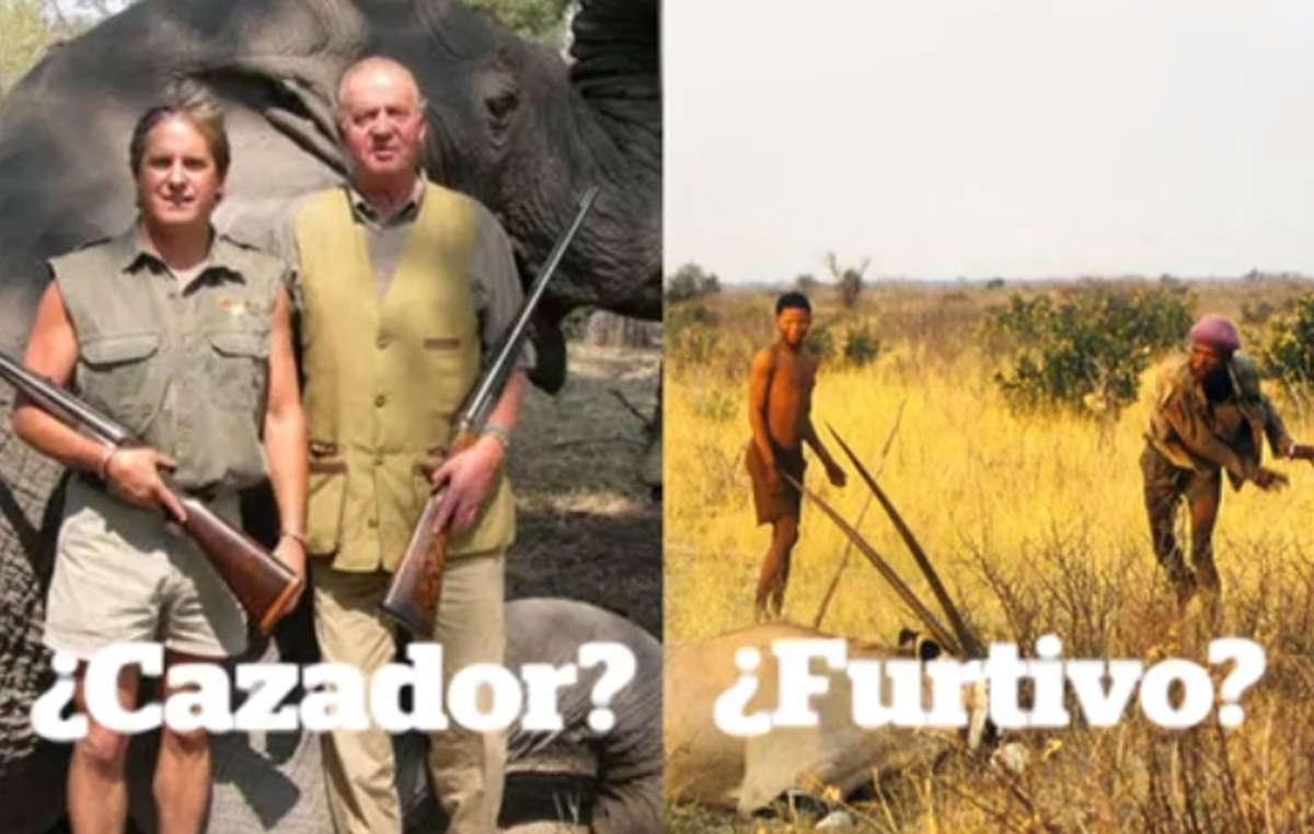 La campaña de Survival #CazadoresNoFurtivos pone de relieve la ironía de que se persiga a los pueblos indígenas por cazar mientras se fomenta la caza de trofeos entre quienes pagan por ella.