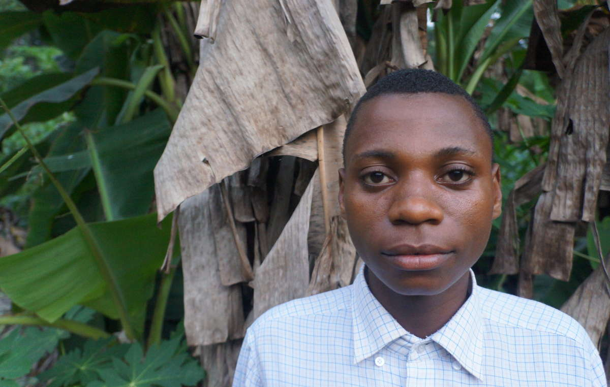 This young Baka musician has worked with 'Baka Beyond.' His father was tortured by an anti-poaching squad in Cameroon.