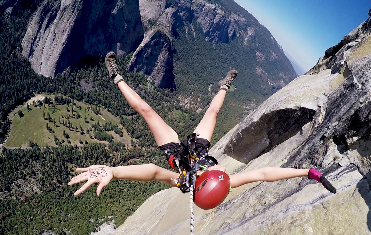 Tesia Bobrycki jumped off Yosemites El Capitan in to stop crimes committed in the name of conservation.