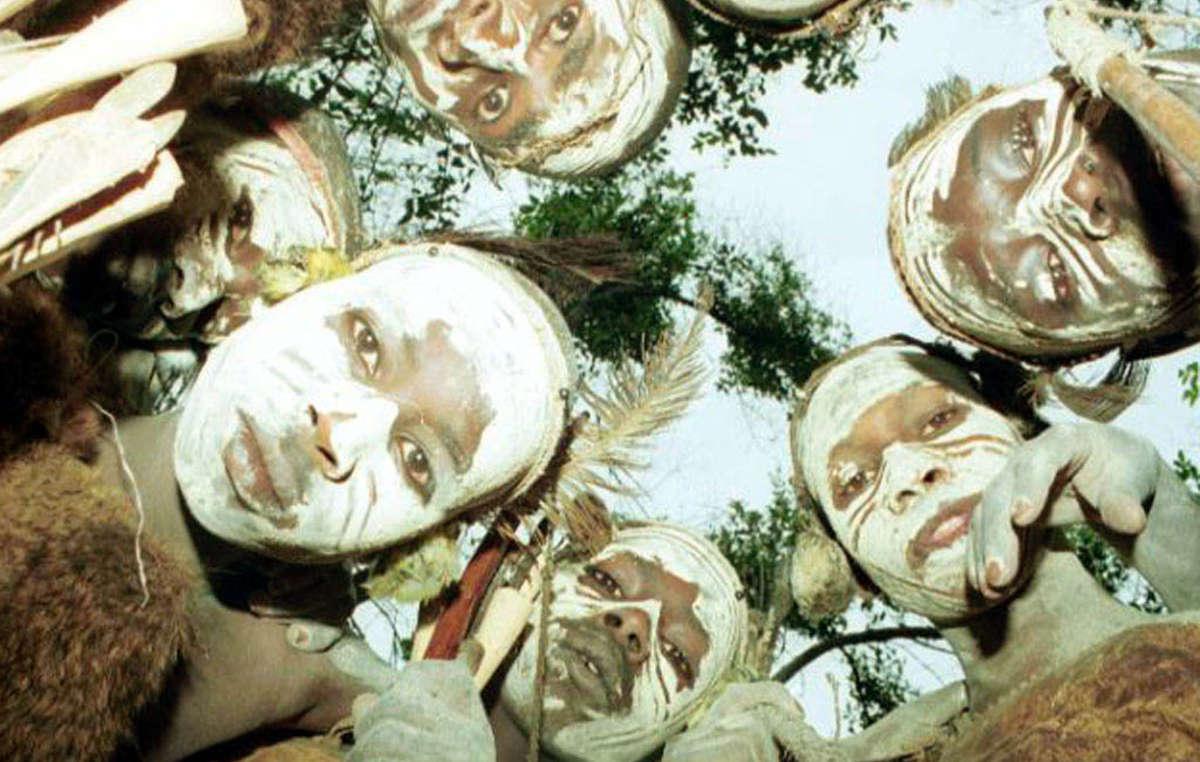 Angehörige der Ogiek in Kenia