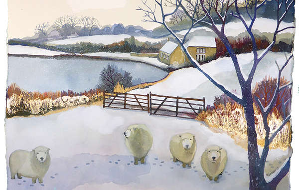 Winter Landscapes by Melissa Launay.