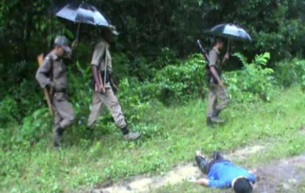 Kaziranga park guards are heavily armed and instructed to shoot intruders on sight