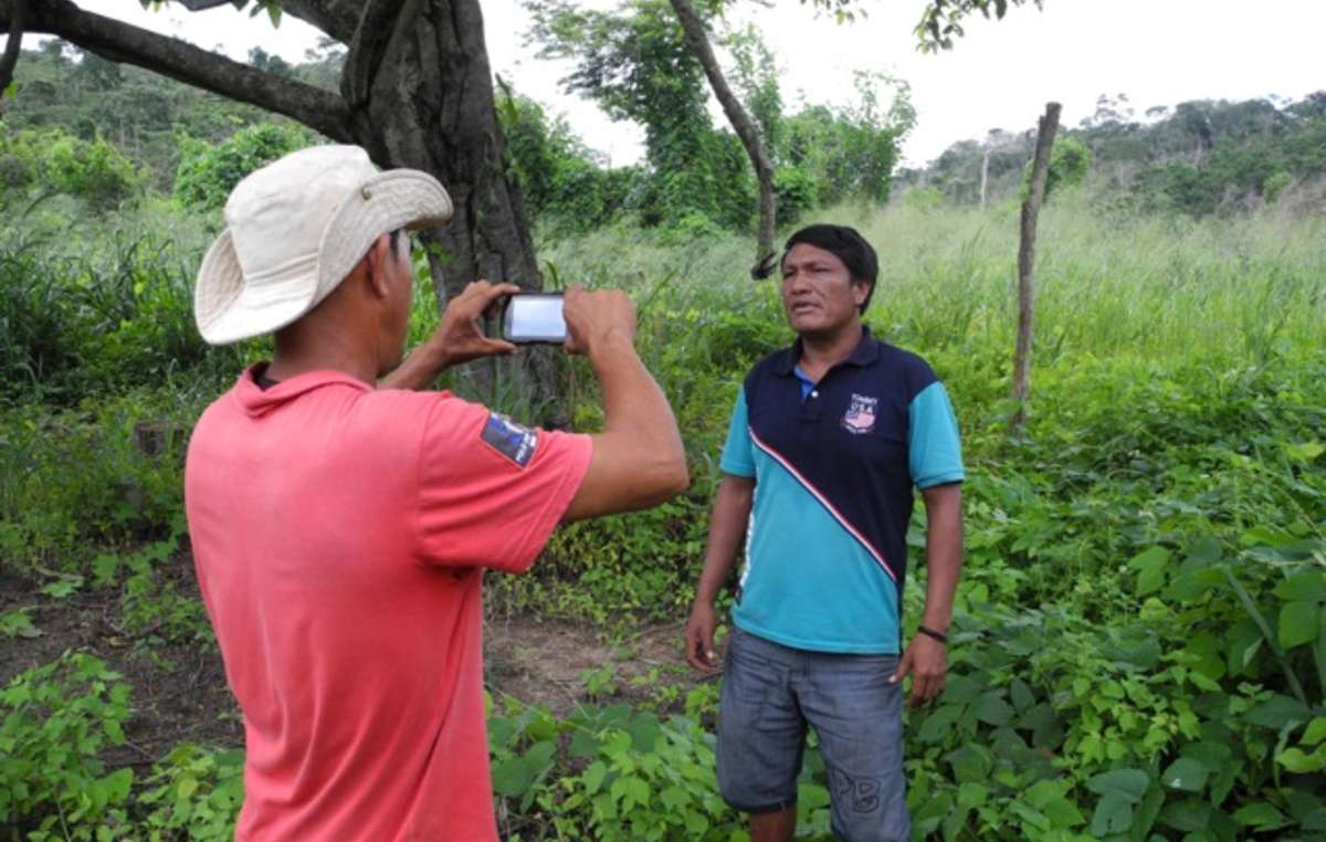 With support from Survival, the Guajajara are able to expose illegal logging and threats to their uncontacted neighbors in real time.