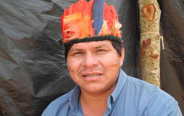 Tonico Benites Guarani était récemment en Europe pour faire connaître les attaques menées par le Brésil à l'encontre des peuples autochtones.