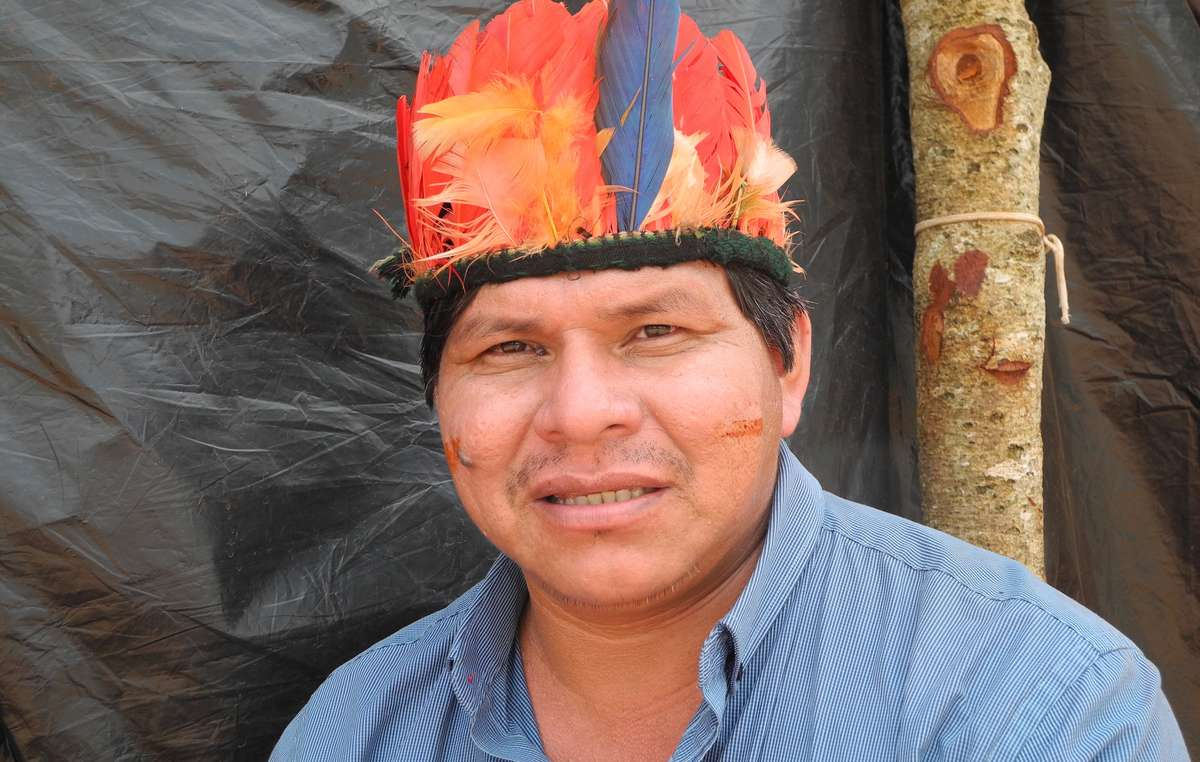 Tonico Benites Guarani visited Europe to expose Brazils attack on its indigenous people