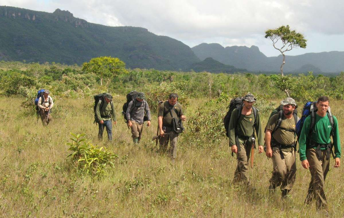 FUNAI agents on a patrol, Brazil