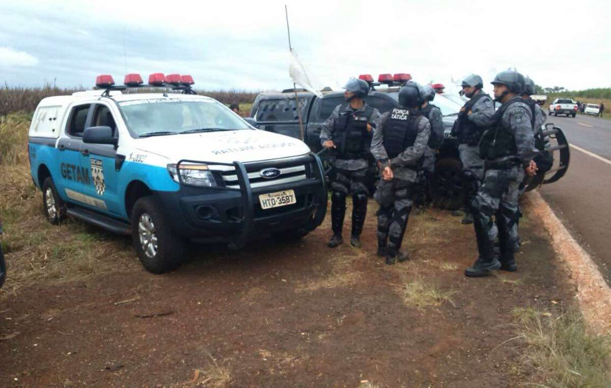 Around 100 federal and military police evicted the Apy Ka'y Guarani community, whose ancestral lands have been destroyed for industrial-scale farming.