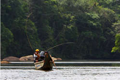 Pêche à la volante sur le Marwini.