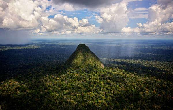 A região inclui a Serra do Divisor, uma região única e extremamente biodiversa conhecida por suas montanhas em forma de cone.